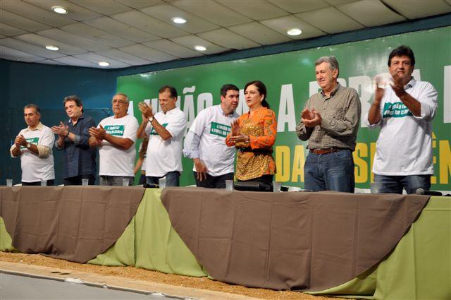 Leilão da Resistência, em 2013, reuniu políticos contra indígenas