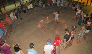Ato em memória de mulheres vítimas de violência em Marabá (Reprodução Facebook)