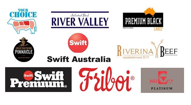 Marcas do grupo JBS na Austrália