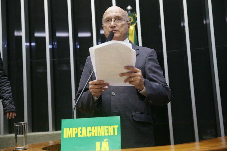 Osmar Serraglio na Câmara: defesa do impeachment e de Eduardo Cunha / Foto Carta Capital