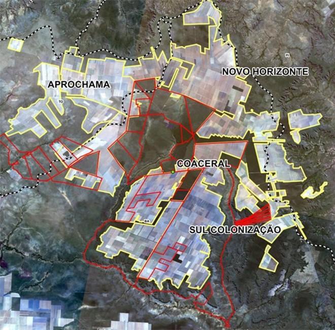 Confira o tamanho da área revindicada / Gazeta do Povo