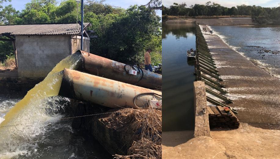 Bolsonaristas e grupos estrangeiros estão por trás da seca na Bacia do Rio Formoso, no Tocantins